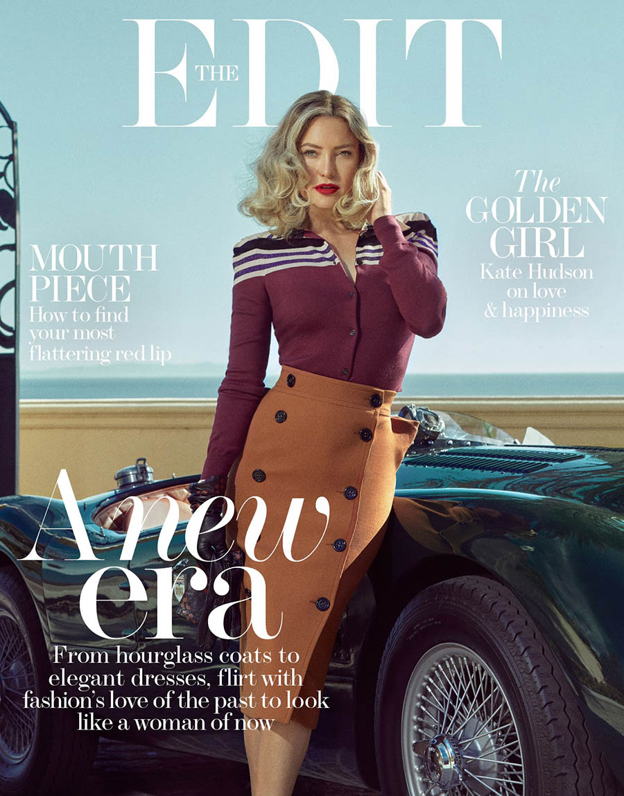 Kate Hudson covers The Edit October 19th, 2017 by An Le