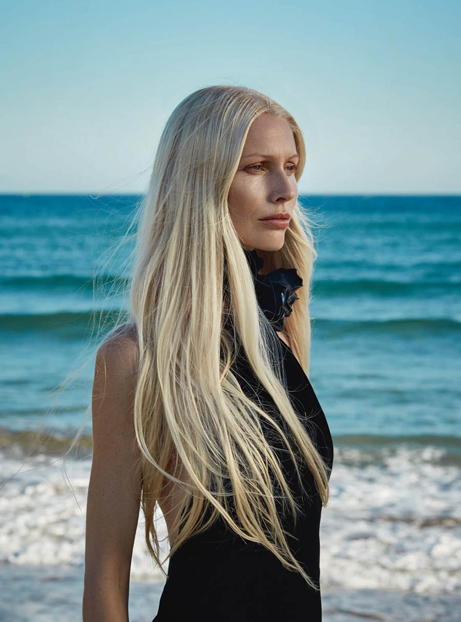 Kirsty Hume by Agata Pospieszynska for Harper's Bazaar UK October 2017