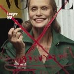 Lauren Hutton covers Vogue Italia October 2017 by Steven Klein