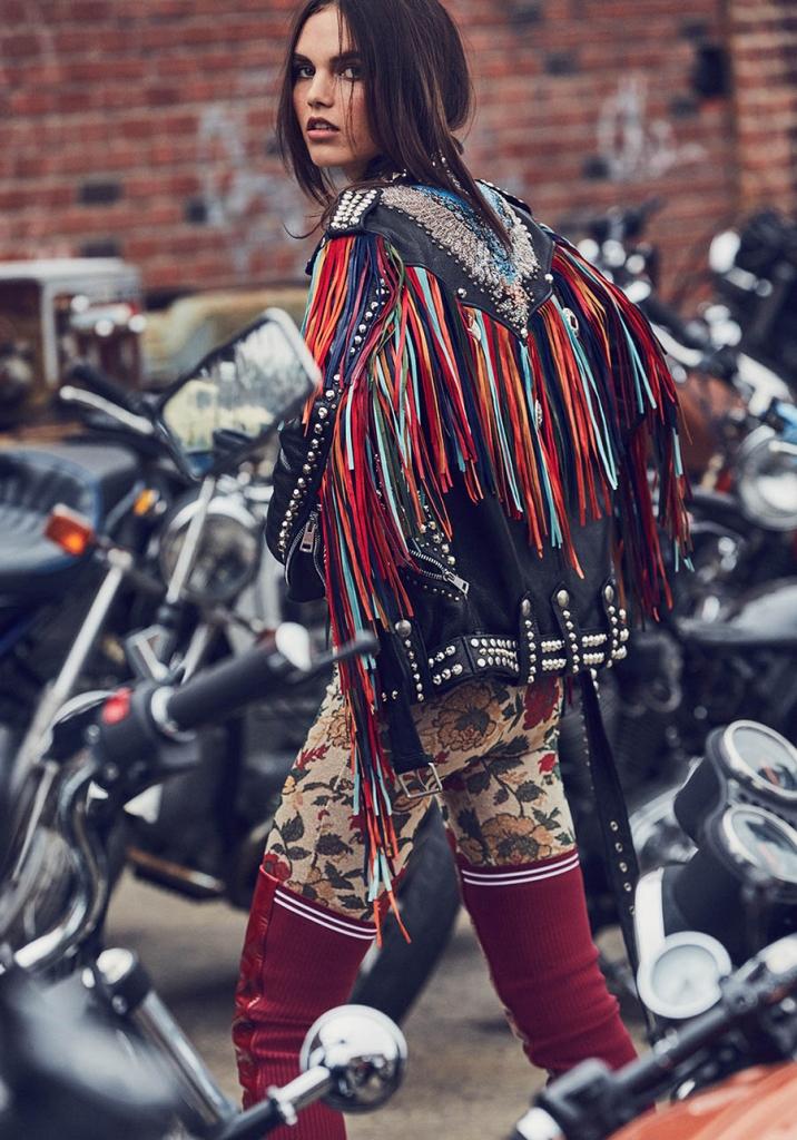 Lily Stewart by Dean Isidro for Harper's Bazaar Turkey October 2017