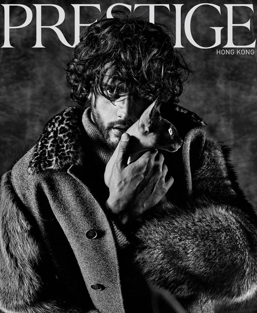 Marlon Teixeira covers Prestige Hong Kong October 2017 by Giovanni Squatriti