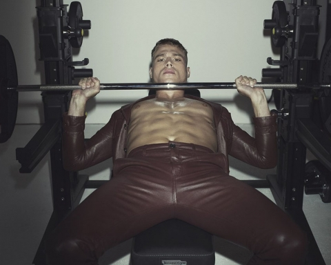 Matthew Noszka by Robbie Fimmano for CR Men's Fashion Book Fall 2017
