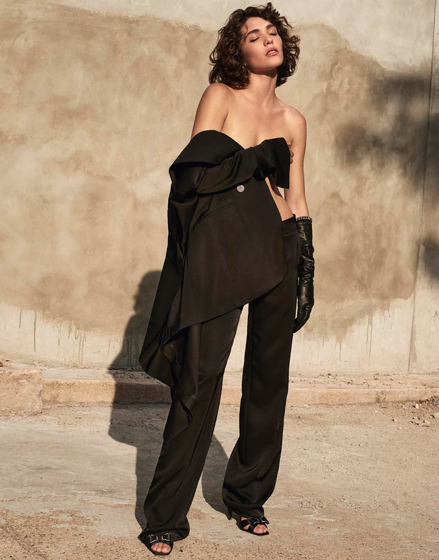 Steffy Argelich by Alexandra Nataf for Porter Magazine Winter 2017