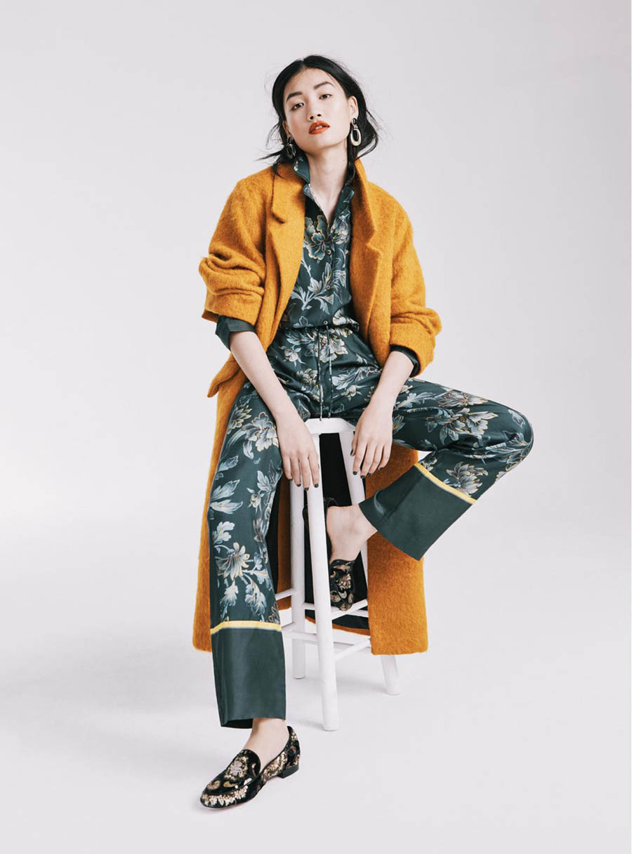 Xiaomeng Huang by Brian Daly for Red Magazine UK October 2017
