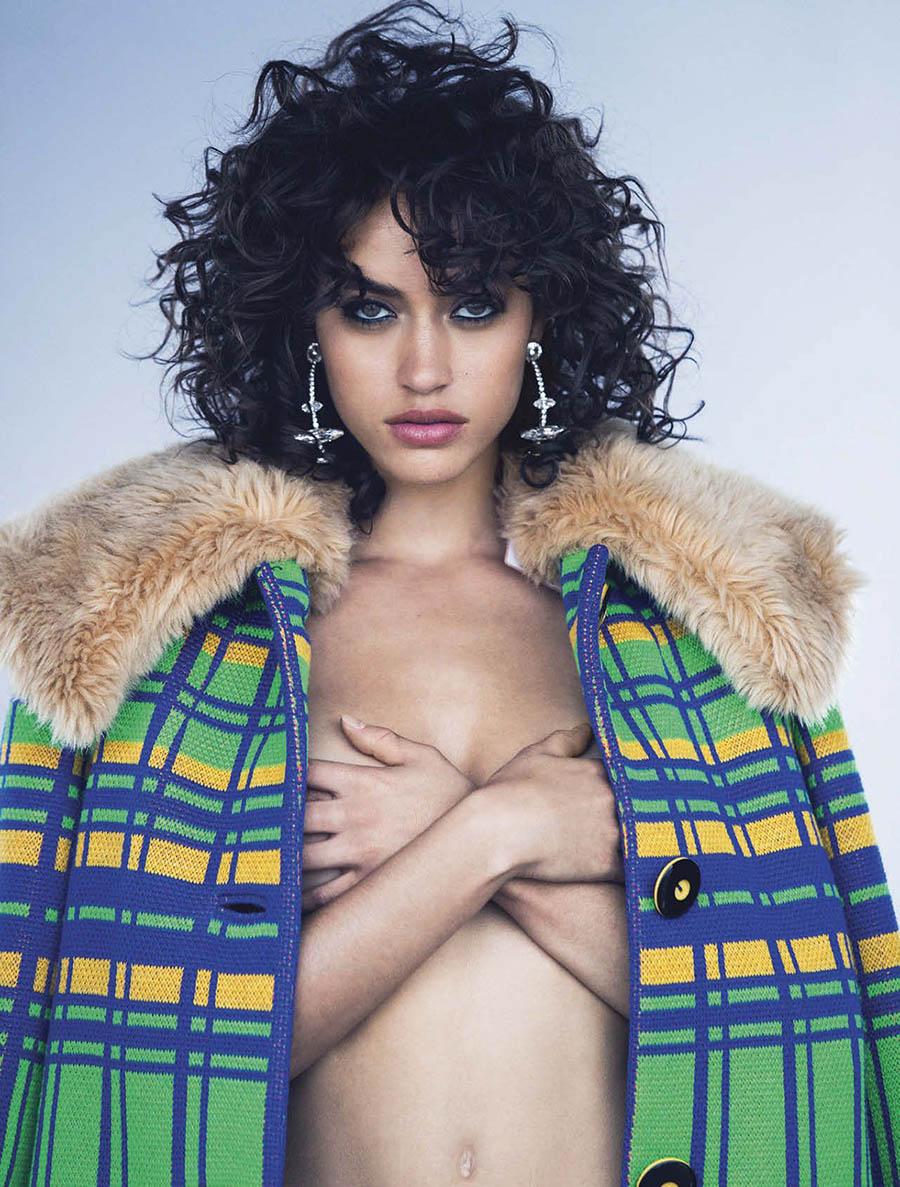 Alanna Arrington by David Bellemere for Vogue Mexico November 2017