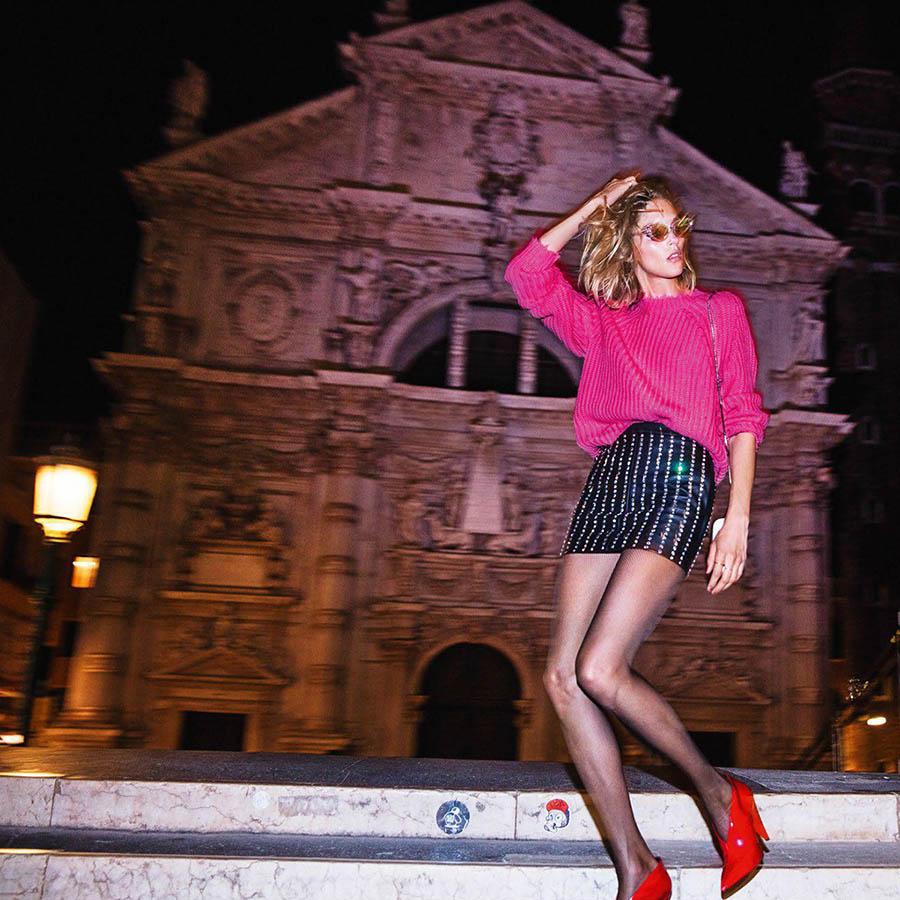 Anja Rubik by Inez and Vinoodh for Vogue Paris November 2017