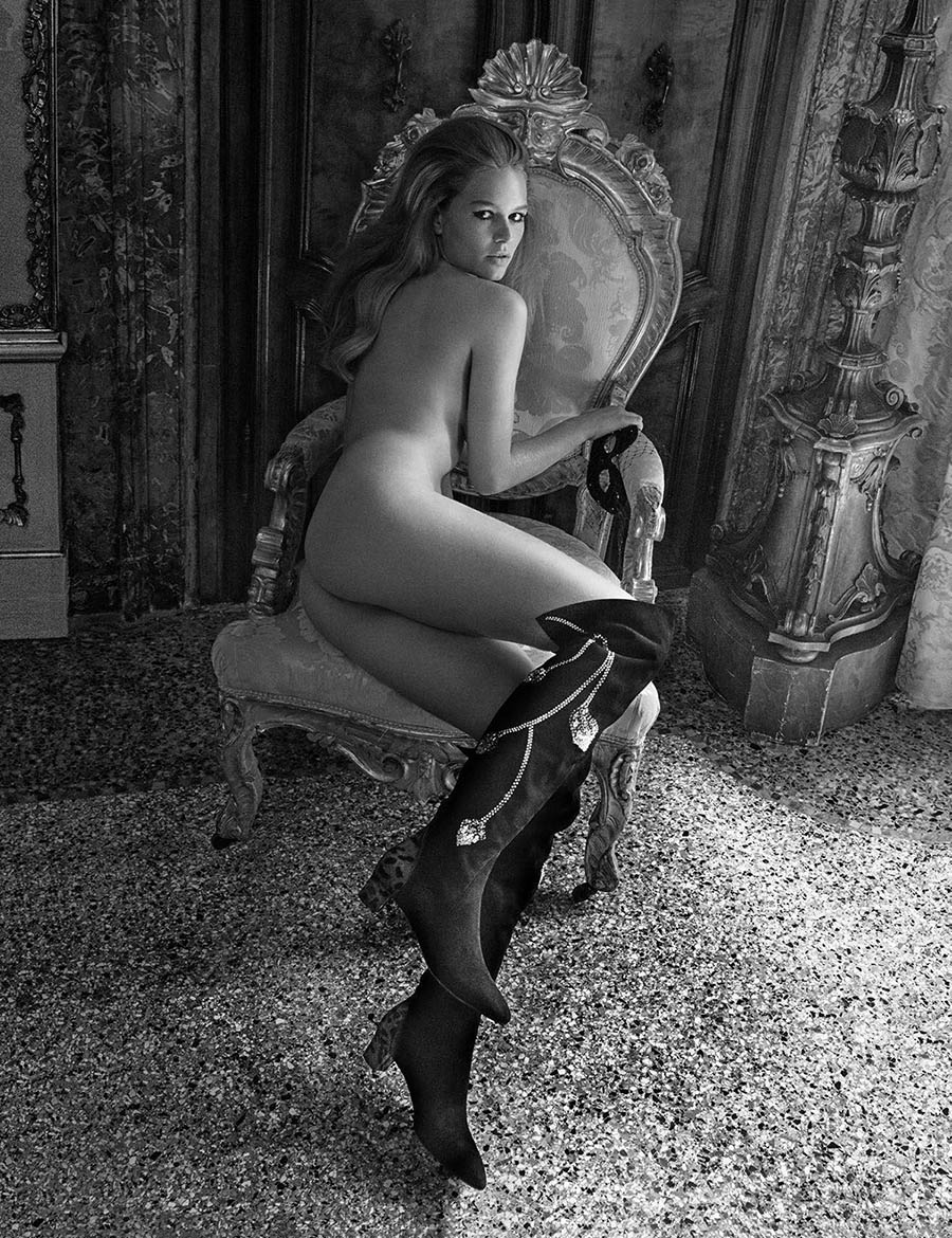 Anna Ewers by Inez and Vinoodh for Vogue Paris November 2017