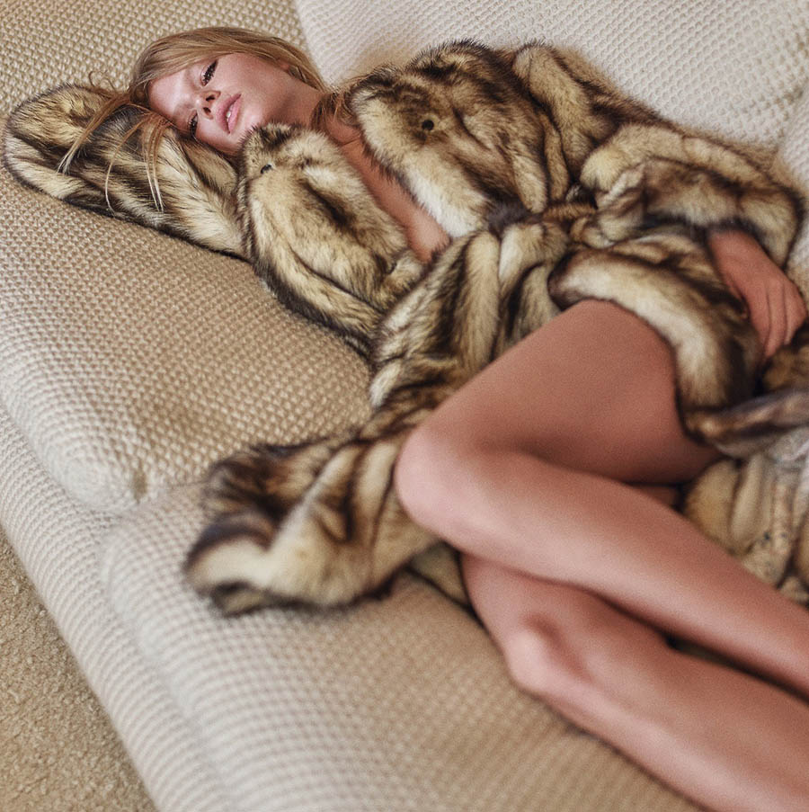 Anna Ewers by Mario Sorrenti for V Magazine Winter 2017