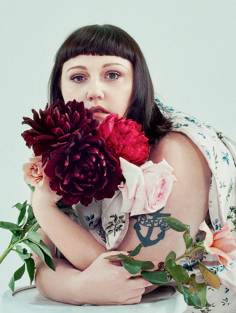 Beth Ditto covers Elle UK November 2017 by Sofia Sanchez and Mauro Mongiello