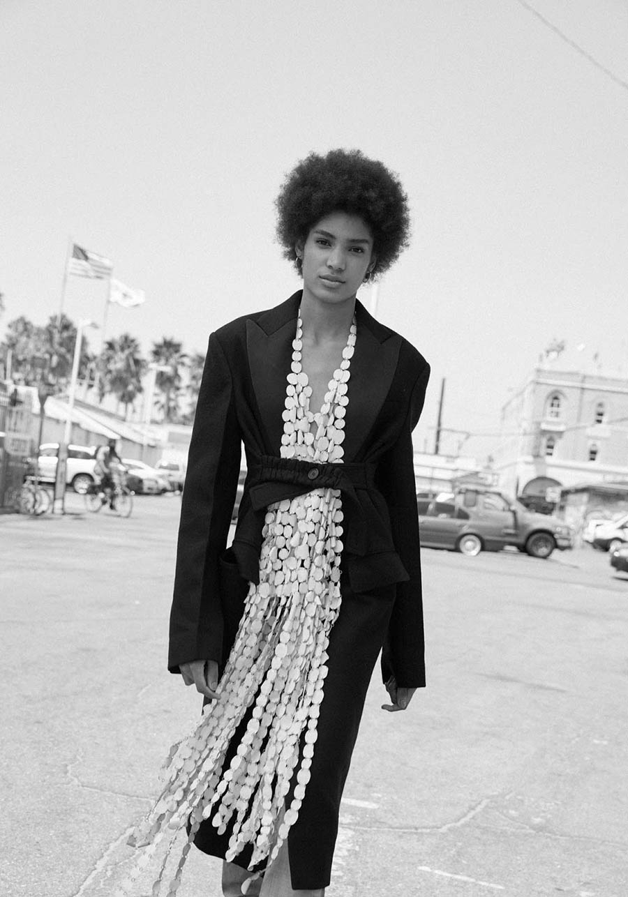 Chanel De Leon Gomez by Camilla Armbrust for Marie Claire UK November 2017