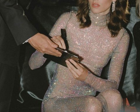 Freja Beha Erichsen by Theo Wenner for British Vogue November 2017
