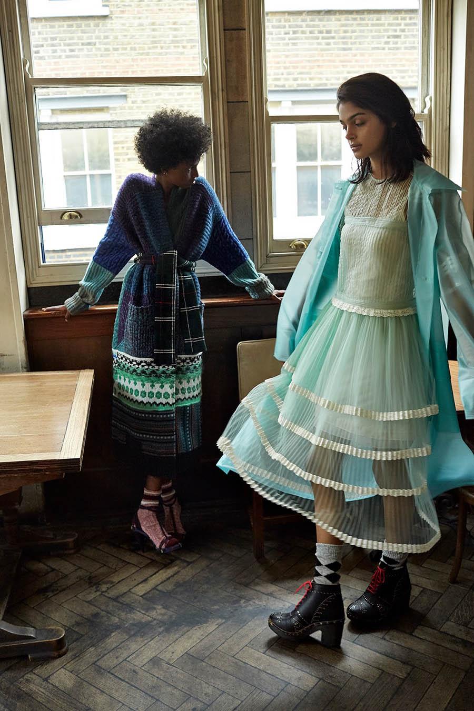 ''Girls About Town'' by Agata Pospieszynska for Harper's Bazaar UK November 2017