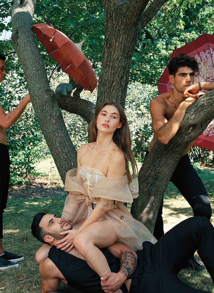 Grace Elizabeth by Bruce Weber for V Magazine Winter 2017