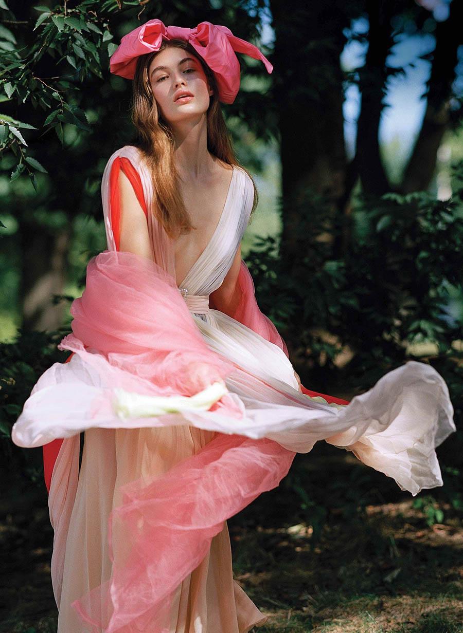Grace Elizabeth by Bruce Weber for V Magazine Winter 2017
