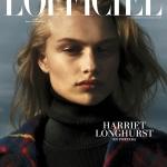 Harriet Longhurst covers L'Officiel Mexico November 2017 by Hugo Comte