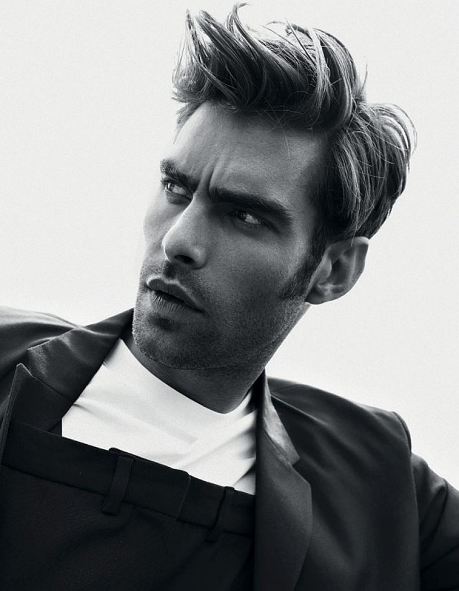 Jon Kortajarena covers L'Officiel Hommes Switzerland Fall/Winter 2017 by Jérémy Dubois