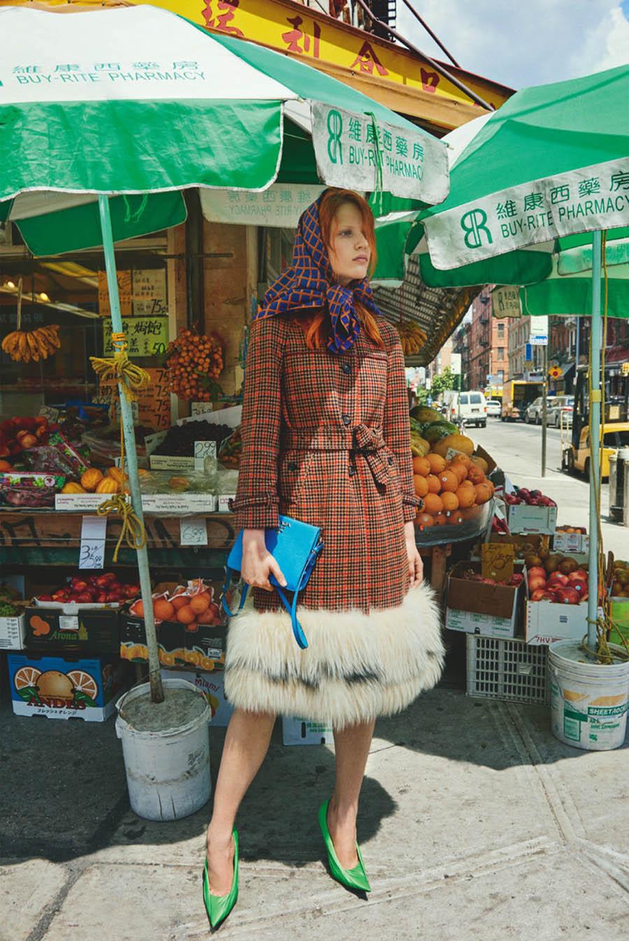 Julia Banas by Catherine Servel for Numéro Tokyo November 2017