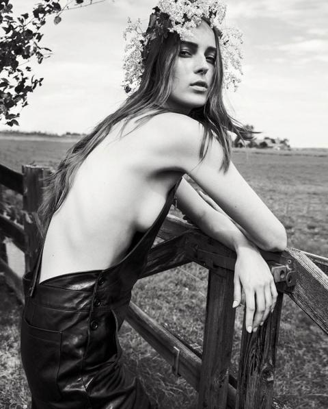Julia Bergshoeff by Inez and Vinoodh for Holiday Magazine Fall Winter 2017