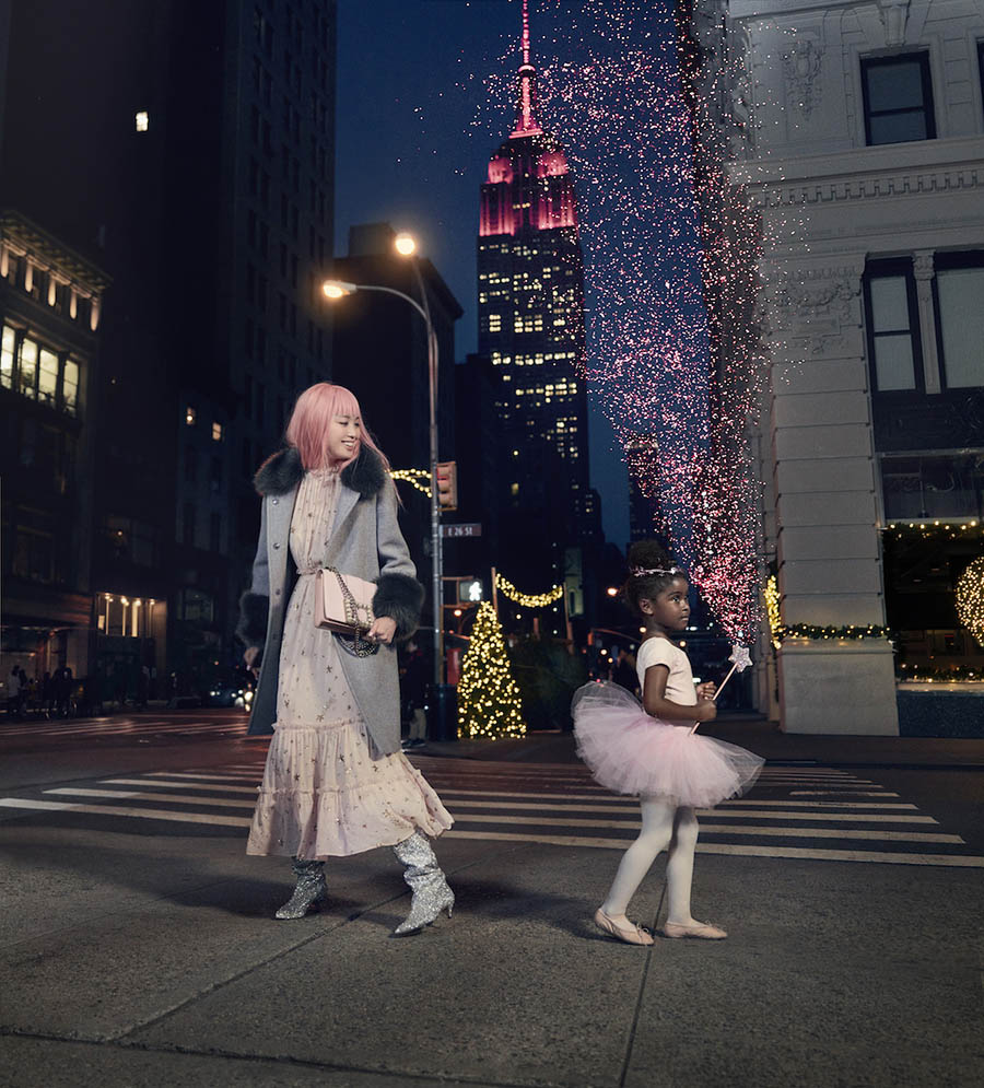 Kate Spade New York Holiday 2017 Campaign