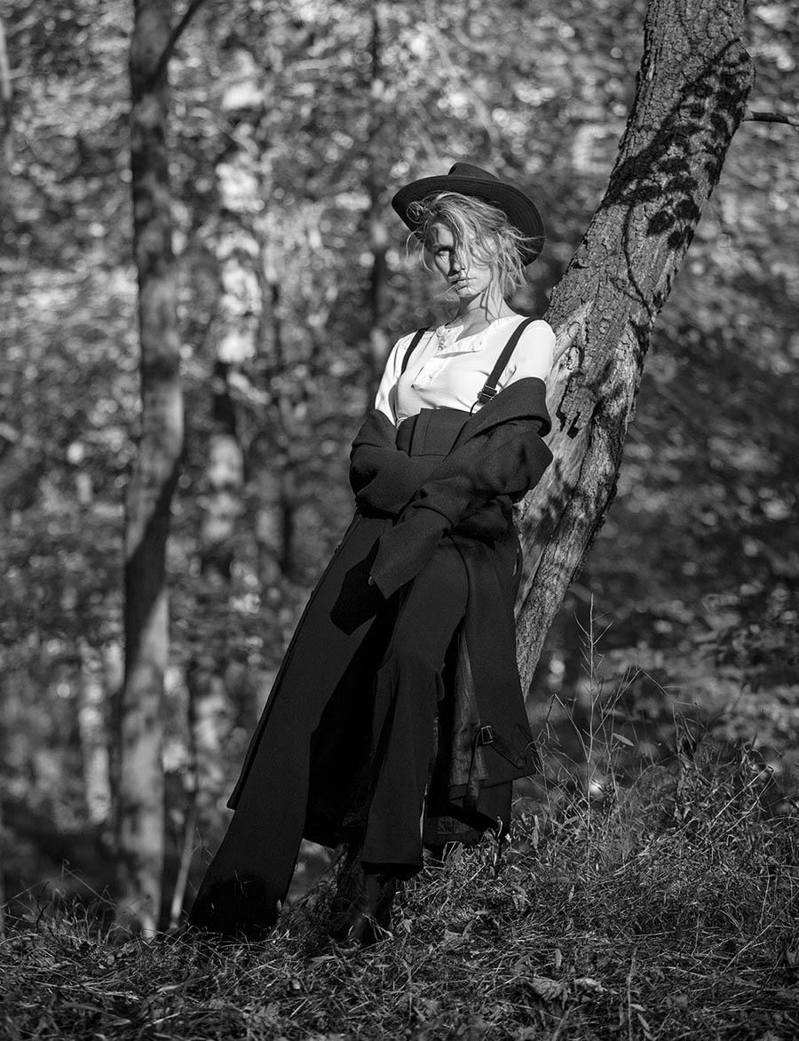 Kirstin Liljegren by Silja Magg for Vogue Arabia November 2017