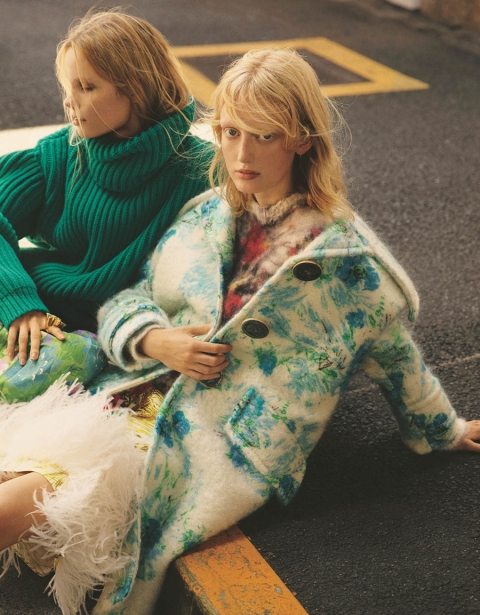 Laura Hagested and Polina Oganicheva by Jack Waterlot for Numéro Tokyo November 2017