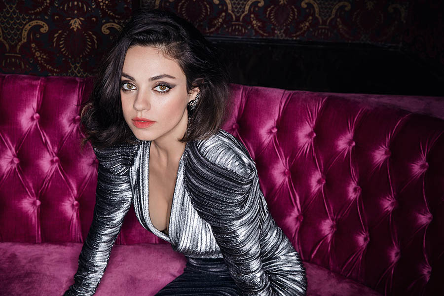 Mila Kunis covers The Edit November 3rd, 2017 by David Bellemere