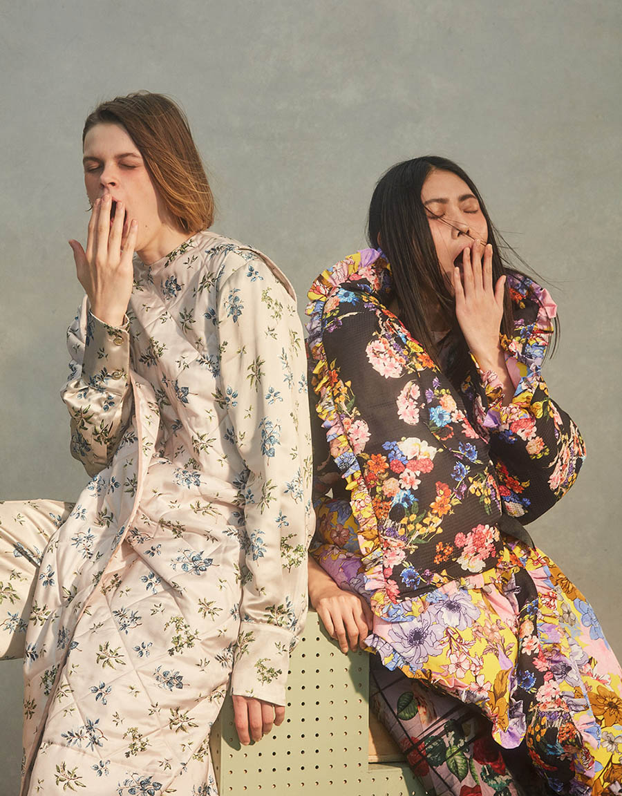 ''Padded Out'' by Roe Ethridge for Vogue China November 2017