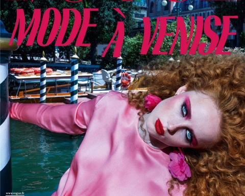 Rianne Van Rompaey covers Vogue Paris November 2017 by Inez and Vinoodh