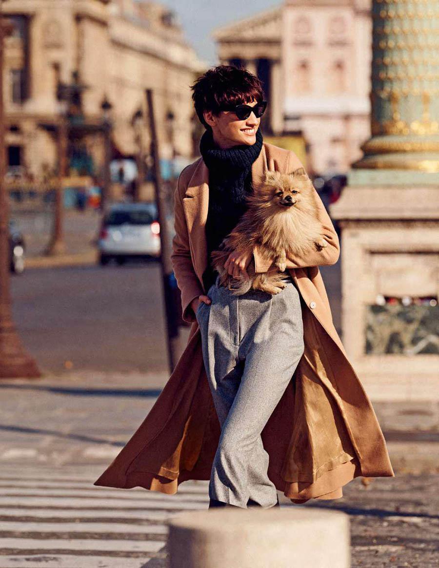 Sija Titko by David Cohen de Lara for Elle France November 17th, 2017