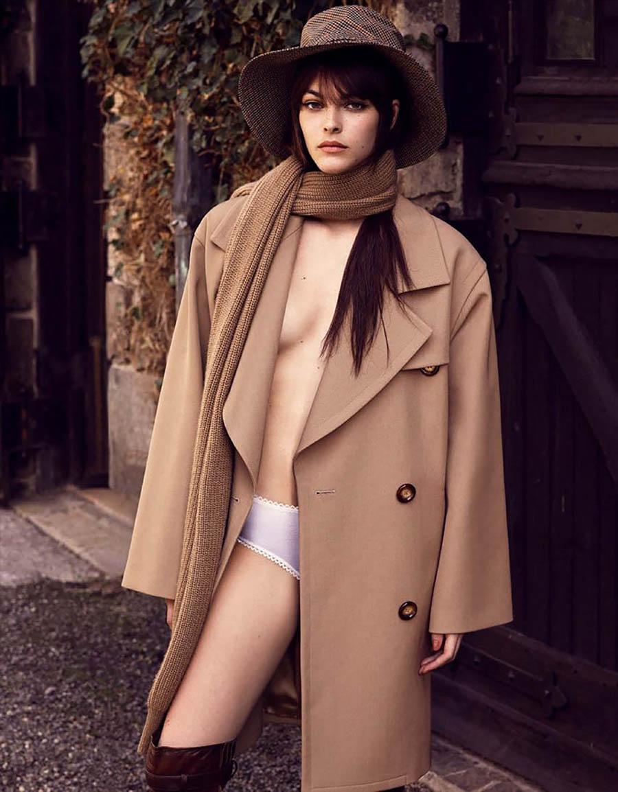 Vittoria Ceretti covers Vogue Germany November 2017 by Luigi & Iango