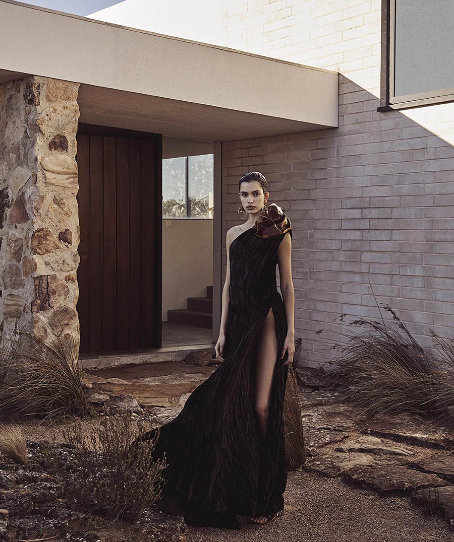 Zoe Barnard by Nicole Bentley for Vogue Australia November 2017