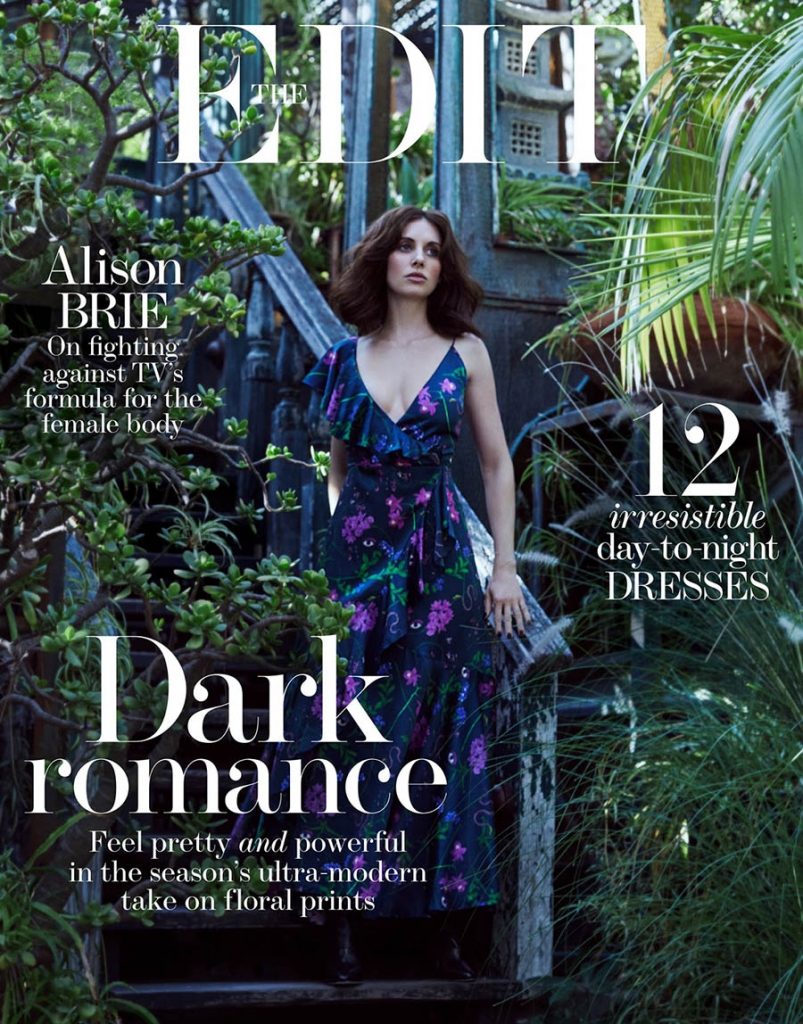 Alison Brie covers The Edit December 14th, 2017 by Txema Yeste