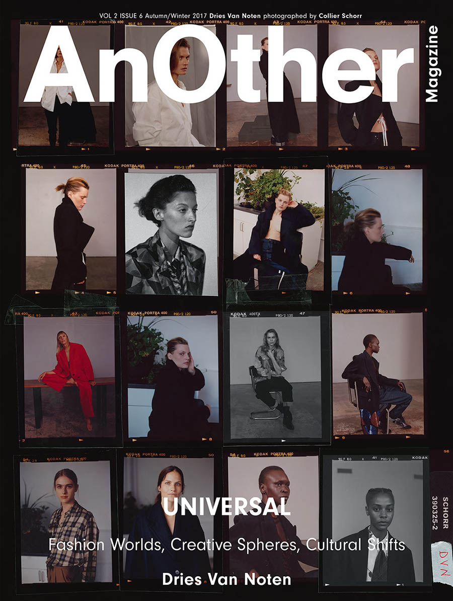 AnOther Magazine Autumn Winter 2017 ''Dries Van Noten'' cover by Collier Schorr