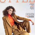 Danielle Lashley covers The Sunday Times Style December 17th, 2017 by Mattias Bjorklund