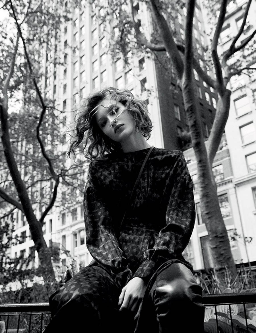 Grace Elizabeth by Camilla Akrans for Vogue China December 2017