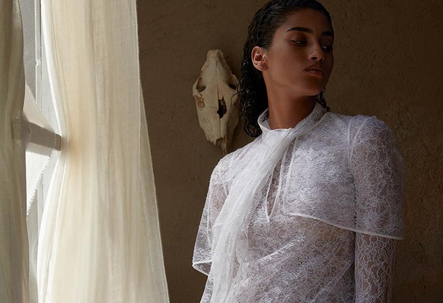 Imaan Hammam by Camilla Akrans for Porter Magazine Winter Escape 2017