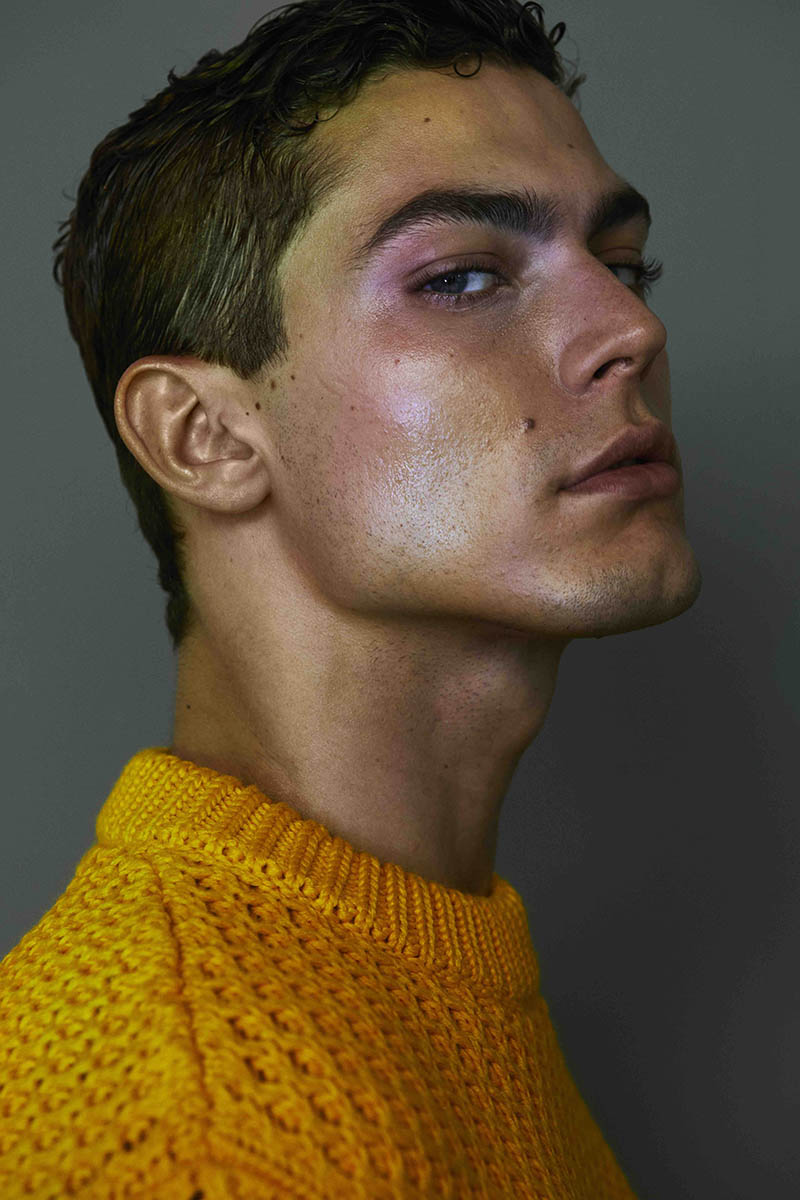 Jacob Hankin by Jenny Brough for Attitude Magazine December 2017