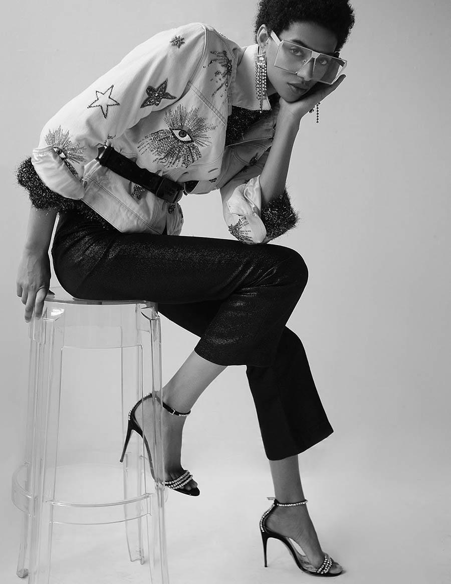 Jourdana Phillips by Ace Amir for Vogue Arabia December 2017