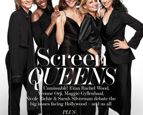 ''Leading Ladies'' on The Edit November 30th, 2017's cover by Victor Demarchelier