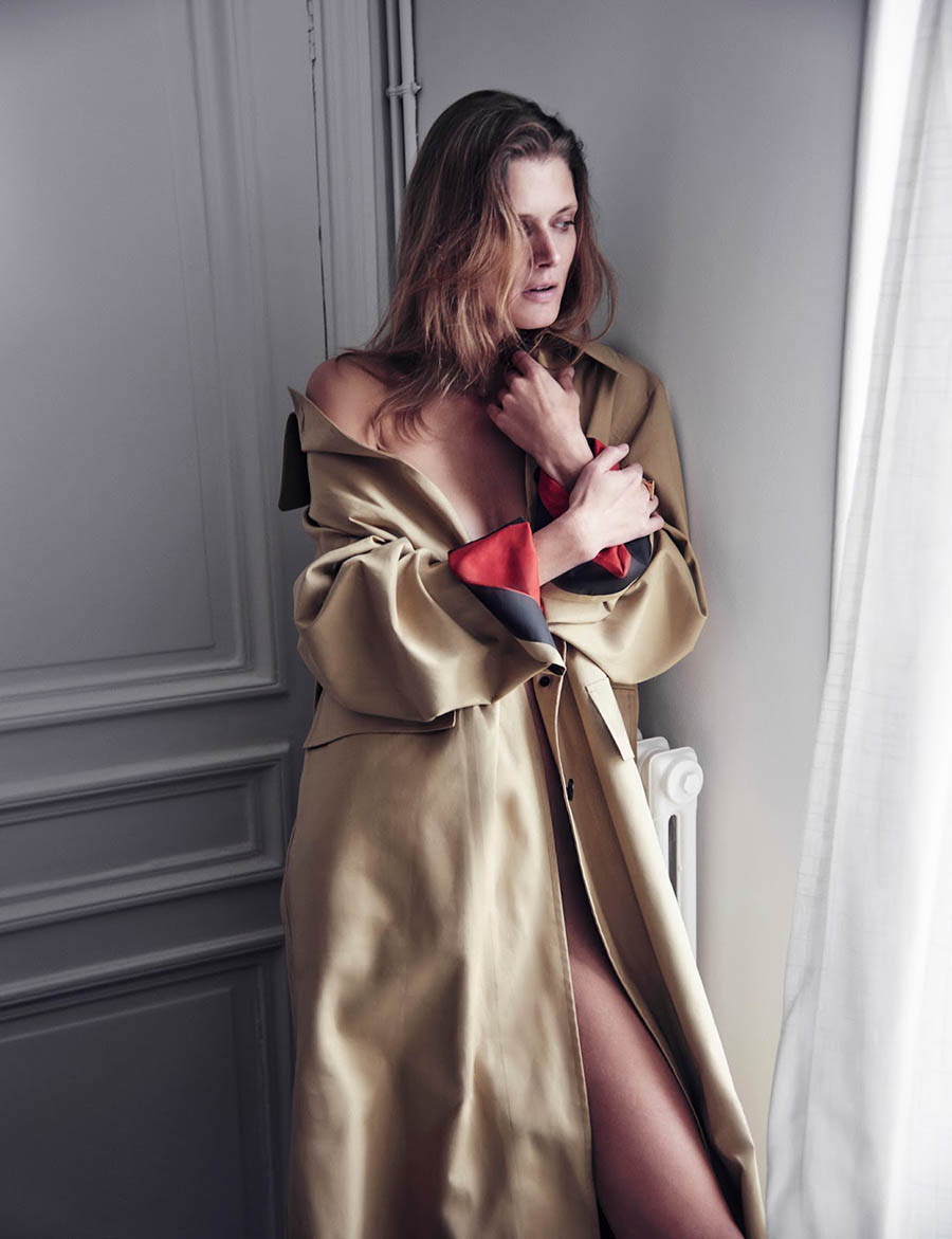 Małgosia Bela by Chris Colls for InStyle US December 2017