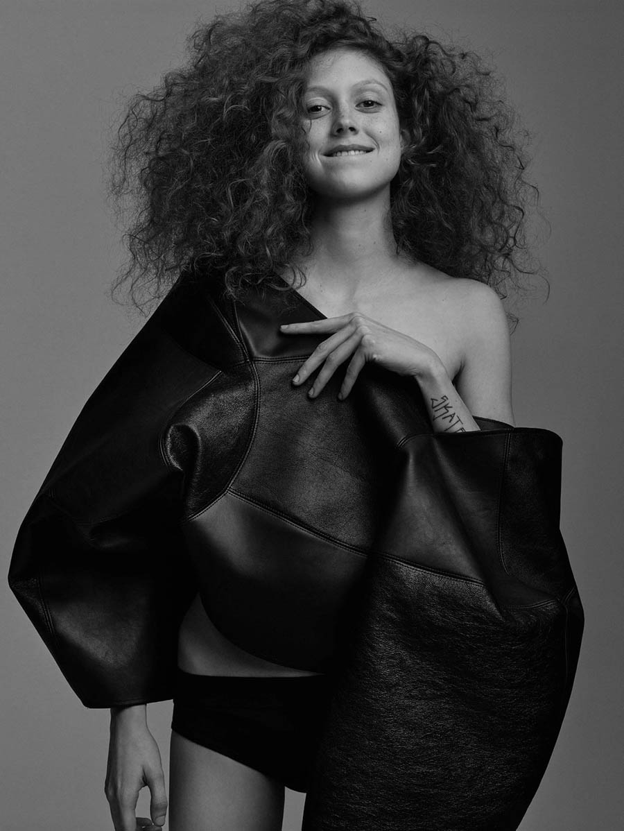 Natalie Westling covers Re-Edition Magazine Fall Winter 2017 by Craig McDean