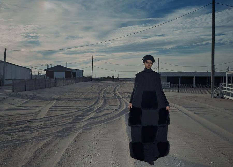 Nora Attal covers Vogue Arabia December 2017 by Emma Summerton
