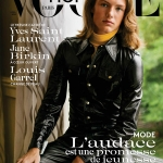 Oliver Sonne covers Vogue Hommes Paris Fall Winter 2017 by Inez and Vinoodh
