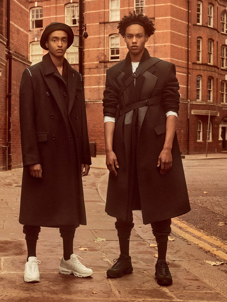 ''On The Street Where You Live'' by Craig McDean for British Vogue December 2017