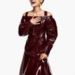 Saffron Vadher by Greg Kadel for Vogue India December 2017
