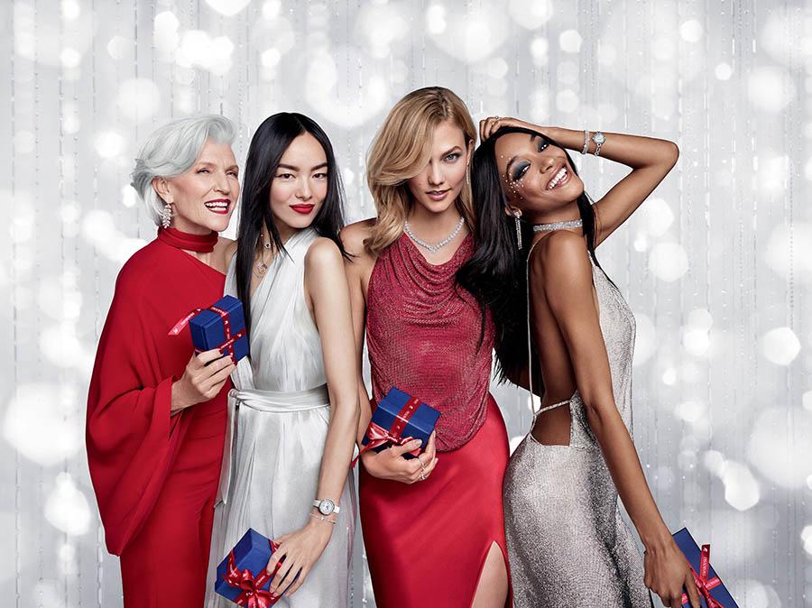 Swarovski Holiday 2017 Campaign