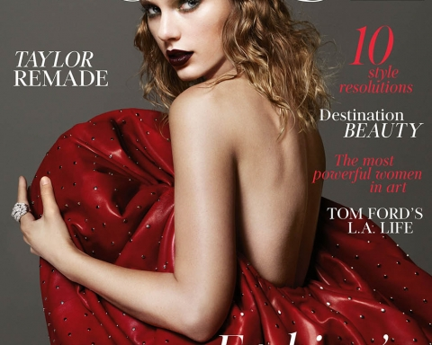 Taylor Swift covers British Vogue January 2018 by Mert & Marcus