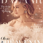 Carey Mulligan covers Harper's Bazaar UK January 2018 by Richard Phibbs