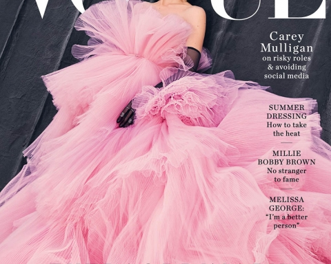 Carey Mulligan covers Vogue Australia January 2018 by Emma Summerton
