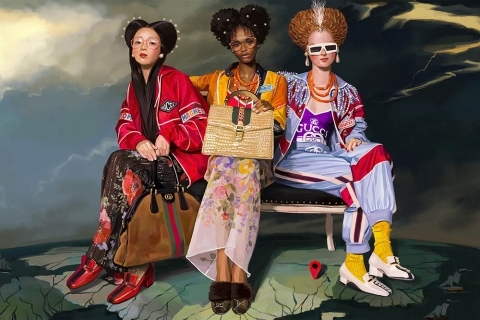 Gucci Spring Summer 2018 Campaign